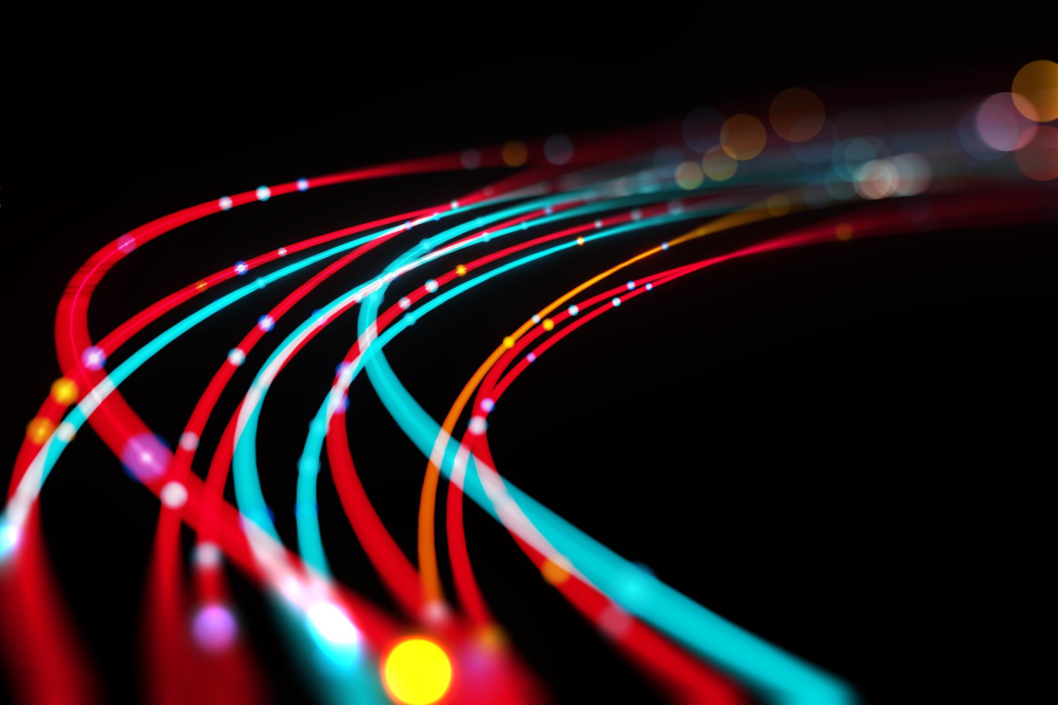 Immagine fibra ottica